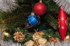 Gelukkige Vrolijke Kerstmis Stock Afbeeldingen