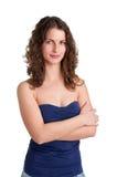 Gelukkige Vrouw Royalty-vrije Stock Foto's