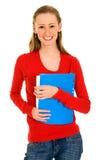 Gelukkige vrouwelijke student Stock Foto