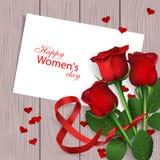 Gelukkige Vrouwen` s Dag vector illustratie