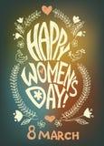 Gelukkige vrouwendag, 8 maart Royalty-vrije Stock Fotografie