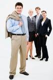 Gelukkige werkgever Stock Fotografie