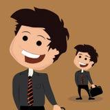 Gelukkige zakenman Stock Illustratie