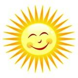 Gelukkige zon Stock Afbeeldingen