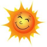 Gelukkige zon Stock Foto's