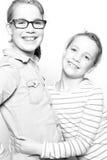 Gelukkige zusters Royalty-vrije Stock Fotografie
