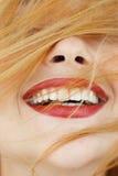 Gelukpret Joy Fooling Laughing Pastime stock afbeelding