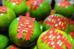 Geluksinaasappel Stock Foto's