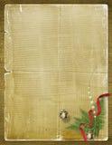 Gelukwens aan Kerstmis of Nieuw stem vóór Stock Afbeeldingen