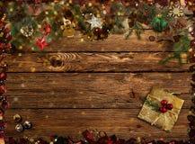 Gelukwensen op de Kerstmisachtergrond het 3d teruggeven Stock Afbeelding