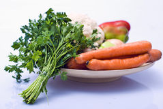 Gemüse als gesunde Nahrung Stockfoto