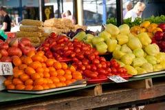 Gemüse auf dem Markt lizenzfreie stockfotografie