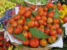 Gemüse auf dem Markt Stockbild