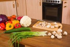 Gemüse auf der Tabelle Stockfoto
