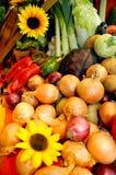 Gemüse auf der Tabelle Lizenzfreies Stockfoto