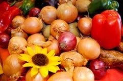 Gemüse auf der Tabelle Lizenzfreies Stockbild