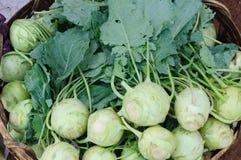 Gemüse auf einem traditionellen Markt in Indien Stockfoto