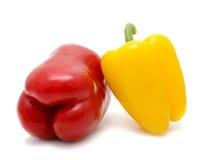 Gemüse auf einem weißen Hintergrund Lizenzfreie Stockbilder