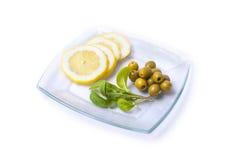 Gemüse auf einer Platte Stockbilder