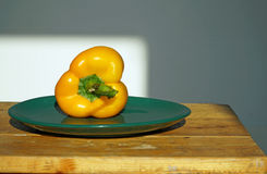 Gemüse auf einer Platte Lizenzfreies Stockbild