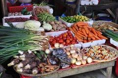 Gemüse auf Markt Lizenzfreie Stockfotografie