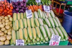 Gemüse auf Verkauf Lizenzfreie Stockbilder