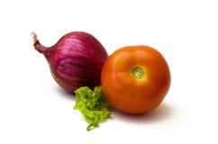 Gemüse auf weißem Hintergrund lizenzfreies stockbild