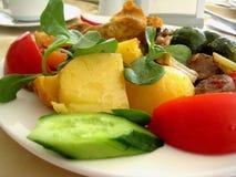 Gemüse dünstete Fleisch Lizenzfreie Stockfotografie