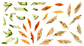 Gemüse in der Zwiebelsoße Lizenzfreies Stockbild