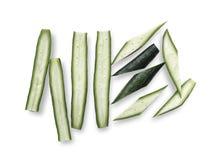 Gemüse des essbaren Eibisches Stockfotografie