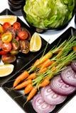 Gemüse - 5 ein Tag Stockfoto