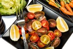 Gemüse - 5 ein Tag Stockfotos