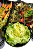 Gemüse - 5 ein Tag Stockbild