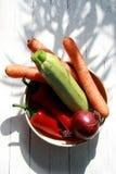 Gemüse in einem Glas Lizenzfreie Stockbilder