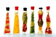 Gemüse in einer Flasche Lizenzfreies Stockbild