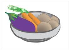 Gemüse in einer Schüssel Lizenzfreies Stockfoto