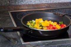 Gemüse in einer Wanne Stockfoto