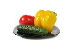 Gemüse eingestellt Stockfoto