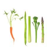 Gemüse, fünf ein Tag Lizenzfreie Stockfotografie