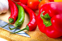 Gemüse für das Kochen Stockfotos