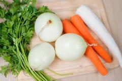 Gemüse für das Kochen Stockbild
