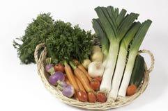 Gemüse für das Kochen der Suppe Lizenzfreie Stockfotos