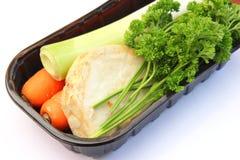 Gemüse für das Kochen einer Suppe stockbilder