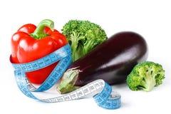 Gemüse für eine Diät lizenzfreies stockbild