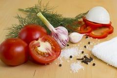 Gemüse für Ketschup Stockfotografie