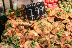 Gemüse für Verkauf in einem lokalen Markt Stockfotos
