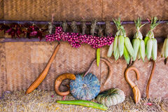 Gemüse, Früchte Stockfotografie