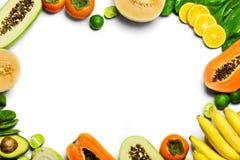 Gemüse, Frucht-Hintergrund Gesundes rohes biologisches Lebensmittel Nutritio stockfoto