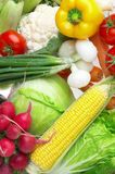 Gemüse. Gesunde Nahrung Stockbild