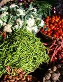 Gemüse im Markt Lizenzfreies Stockfoto